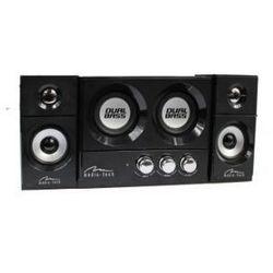 Media-Tech SOUNDRAVE 2.2 DUALBASS - Głośniki stereofoniczne z subwooferem z kategorii pozostałe rtv