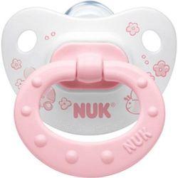 Nuk, Baby Rose, Smoczek uspokajający, silikonowy, 6-18 m-cy - produkt z kategorii- Smoczki