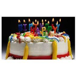 Zestaw świeczek na pikerach Happy Birthday - 1 kpl. (5055566908685)