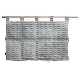 Dekoria  wezgłowie na szelkach, przestrzenny wzór w odcieniach szarości, 90 x 67 cm, rustica