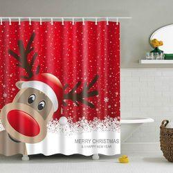 Bathroom waterproof shower curtain, marki Rosegal