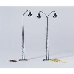 Słupy oświetleniowe dwuramienne / 1 szt. Piko 55753 z kategorii Kolejki i akcesoria
