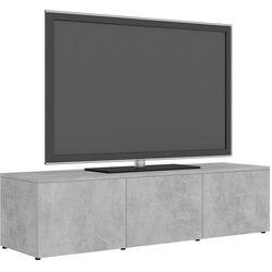 Vidaxl szafka pod tv, szarość betonu, 120x34x30 cm, płyta wiórowa (8719883915746)