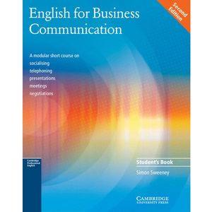 English for Business Communication, Student's Book (podręcznik), oprawa miękka