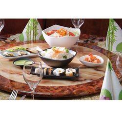 Aps germany Taca do sushi z melaminy zen czarny aps-83740
