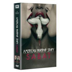 American Horror Story: Sabat, sezon 3 (DVD) - Brad Falchuk z kategorii Seriale, telenowele, programy TV