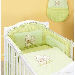 MAMO-TATO pościel 2-el Tulisie w zieleni do łóżeczka 70x140cm z kategorii komplety pościeli dla dzieci
