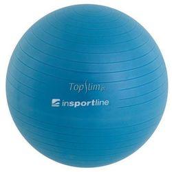Piłka fitness Top Ball z pompką 55cm Insportline - niebieski