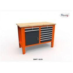 """Malow Stół narzędziowy swt 12/05 """"dwójka"""" warsztat metalowy na klucz"""