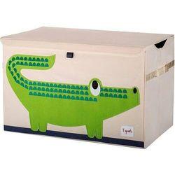 3 sprouts Pudełko zamykane krokodyl