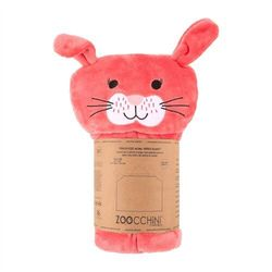 Zoocchini kocyk z kapturem królik
