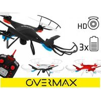 Dron Overmax 3.1 plus z kamera 34cm Black