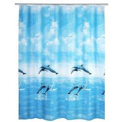 Zasłona prysznicowa delfin, peva, 180x200 cm, marki Wenko