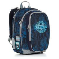 Plecak szkolny  chi 881 d - blue od producenta Topgal