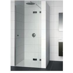 RIHO ARTIC A104 Drzwi prysznicowe 90x200 LEWE, szkło transparentne EasyClean GA0050201 - produkt z kategorii-