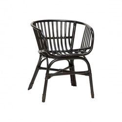 Hubsch -krzesło Bambusowe ciemnie