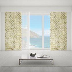 Zasłona okienna na wymiar - WHITE PIECE OF CARPET III