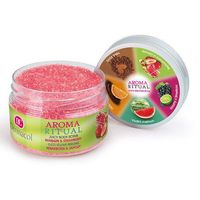 aroma ritual body scrub rhubarb&strawberry 200g w peeling marki Dermacol