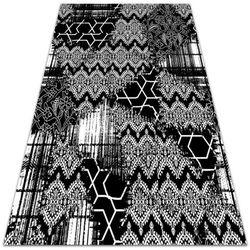 Piękny dywan zewnętrzny piękny dywan zewnętrzny chaotyczny gobelin wzór marki Dywanomat.pl