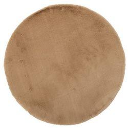 Dywan okrągły Bella 80 cm beżowy, 503356