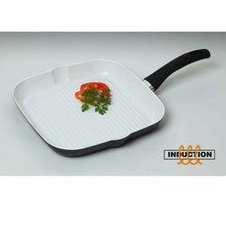 - rivarolo patelnia grillowa ceramiczna, indukcyjna średnica: 28 cm marki Ballarini