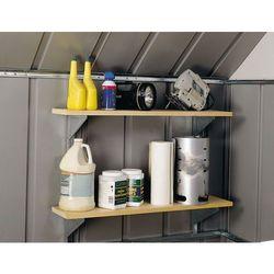 Dwupoziomowa konstrukcja na półki do domków narzędziowych Arrow
