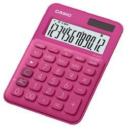 Kalkulator CASIO MS-20UC-RD-S Różowy