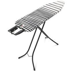 Brabantia - Deska do prasowania rozmiar 124 x 38 cm, rama czarna 22mm - podstawa na żelazko