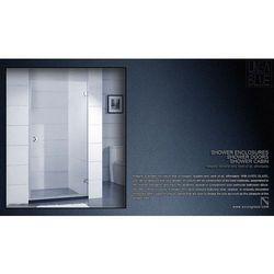DRZWI PRYSZNICOWE AXISS GLASS AN6211H 800mm, towar z kategorii: Drzwi prysznicowe