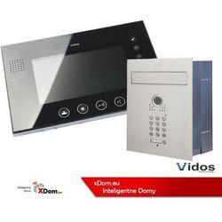 Zestaw jednorodzinny wideodomofonu VIDOS. Skrzynka na listy z wideodomofonem. Monitor 7'' S561D-SKP_M670BS2