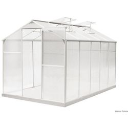 Hecht czechy Hecht rancher ii szklarnia ogrodowa aluminiowa 315x190x195 + podstawa gratis - oficjalny dystrybutor - autoryzowany dealer hecht