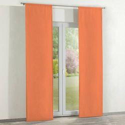 zasłony panelowe 2 szt., pomarańcz, 60 × 260 cm, jupiter marki Dekoria