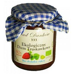 Ekologiczny dżem truskawkowy bez dodatku cukru 270g, marki Sad danków