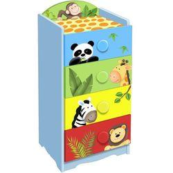 Fantasy Fields, Sunny Safari, komoda, 4 szuflady - produkt z kategorii- Szafy i szafki