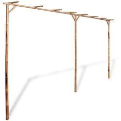 vidaXL Bambusowa Pergola 4x2 m - sprawdź w wybranym sklepie