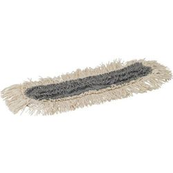 Mop wet 61, do czyszczenia na mokro, z mocowaniem kieszeniowym, szary, 400 mm,  545400 marki Vikan