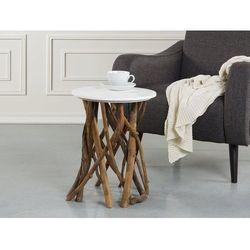 Stolik kawowy biały - ława - kawowa - stół - HOUMA (7081455845913)