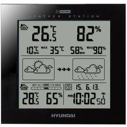 Stacja pogody HYUNDAI WS2244B Czarny, WS 2244