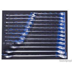 King tony Zestaw kluczy płasko-oczkowych 20cz. 6 - 32mm, wkład z pianki, do wózka 9-1220mrv (4712755687424)