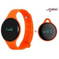 Promedix Krokomierz  smartband pr-320m pomarańczowy - pomarańczowy