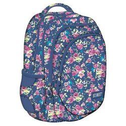 St.reet Plecak Szkolny BP-06 Kwiaty Różowe 609046 z kategorii Tornistry i plecaki