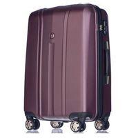 Średnia walizka PUCCINI PC018 Toronto bordowa - bordo