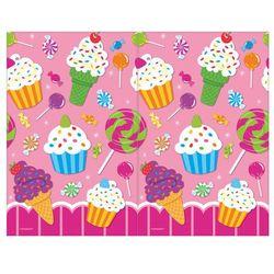 Obrus urodzinowy Sweet Shop - 1 szt.