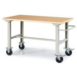 Mobilny stół warsztatowy ROBUST, 1500x800 mm, wzmacniany blat, 22178