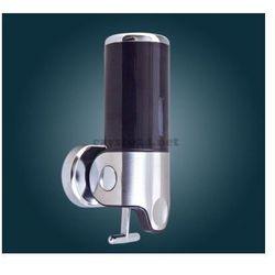Dozownik mydła pojedynczy ABS/SS/CZARNY - produkt z kategorii- Dozowniki mydła