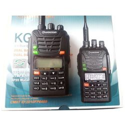 Radio WOUXUN KG-UV6D 66-88 / 400-480 DUAL BANDE