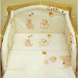 MAMO-TATO pościel 2-el Baloniki ecru do łóżeczka 70x140cm z kategorii komplety pościeli dla dzieci