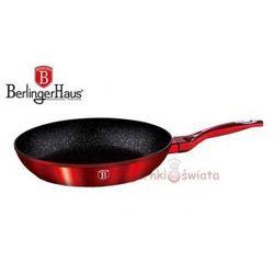 PATELNIA GRANITOWA 24cm BERLINGERHAUS RED METALLIC LINE BH-1252