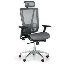 Krzesło biurowe Lester M, szary