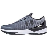 Under Armour CHARGED CONTROLLER Obuwie do koszykówki rhino gray/black (0190085667356)